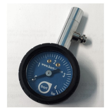 Pressure gauge to check tyres pressure