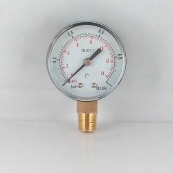 Manometro 1 Bar diametro dn 50mm verticale