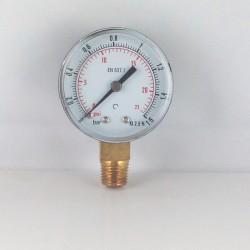 Manometro 16 Bar diametro dn 50mm verticale