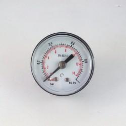 Manometro 1 Bar diametro dn 40mm posteriore