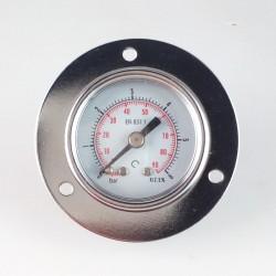 Manometro 6 Bar diametro dn 40mm con flangia