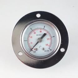 Dry pressure gauge 10 Bar diameter dn 40mm front flange