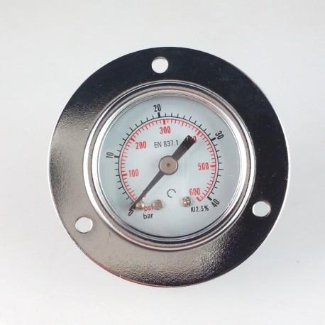 Dry pressure gauge 40 Bar diameter dn 40mm front flange