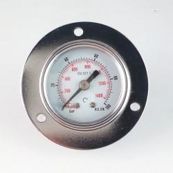 Dry pressure gauge 100 Bar diameter dn 40mm front flange
