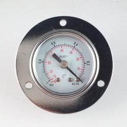 Dry vacuum gauge -1 Bar diameter dn 40mm front flange