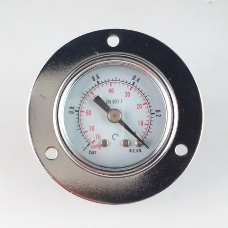 Dry vacuum gauge -1 Bar diameter dn 40mm front flange