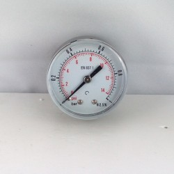 "Dry pressure gauge 1 Bar diameter dn 50mm back 1/8""Bsp"