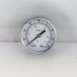 "Dry pressure gauge 1,6 Bar diameter dn 50mm back 1/8""Bsp"