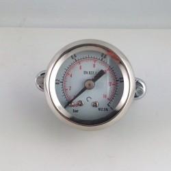 Manometro 1 Bar diametro dn 40mm con staffa