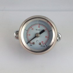 Dry pressure gauge 4 Bar diameter dn 40mm u-clamp