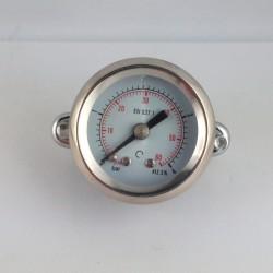 Manometro 4 Bar diametro dn 40mm con staffa