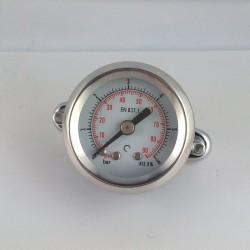 Dry pressure gauge 6 Bar diameter dn 40mm u-clamp