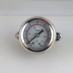 Manometro 16 Bar diametro dn 40mm con staffa