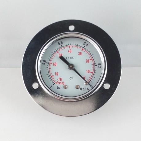 Dry vacuum gauge -1 Bar diameter dn 50mm front flange
