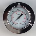 Dry pressure gauge 1,6 Bar diameter dn 63mm front flange