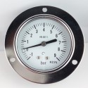 Dry vacuum gauge -1+9 Bar diameter dn 63mm front flange