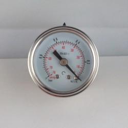 Vuotometro glicerina -1 Bar diametro dn 40mm posteriore