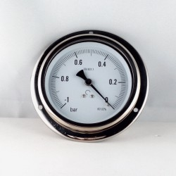 Vuotometro glicerina -1 Bar diametro dn 100mm flangia