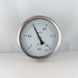 Glycerine filled compound -1+1,5 Bar gauge diameter dn 100mm u-clamp