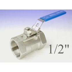 """Reduce bore stainless steel ball valves 1/2""""bsp"""