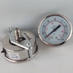 Stainless steel pressure gauge 1,6 Bar dn 63mm u-clamp