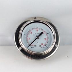 Stainless steel pressure gauge 4 Bar dn 63mm flange