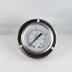 Stainless steel pressure gauge 4 Bar diameter dn 50mm flange