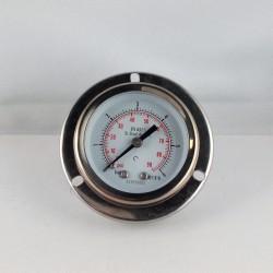 Manometro Inox 6 Bar diametro dn 50mm flangia