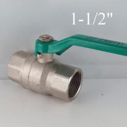 "Brass ball valves 1-1/2"" PN 40"