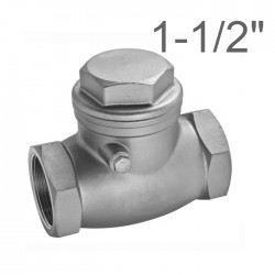 "Stainless steel aisi 316 Y Strainer Female 1/4""Bsp"