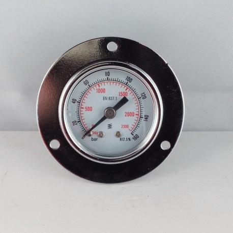 Dry pressure gauge 160 Bar diameter dn 40mm front flange