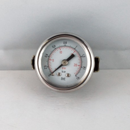 Dry pressure gauge 1,6 Bar diameter dn 40mm u-clamp