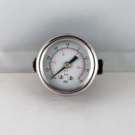 Dry pressure gauge 1,6 Bar diameter dn 40mm u-clamp