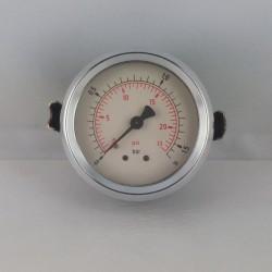 Dry pressure gauge 1,6 Bar diameter dn 63mm u-clamp