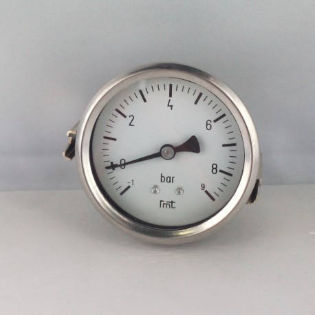 Dry vacuum gauge -1+9 Bar diameter dn 63mm u-clamp