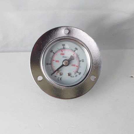 Dry pressure gauge 315 Bar diameter dn 40mm front flange