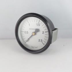 """Dry pressure gauge 12 Kg/Cm2 diameter dn 80mm back 1/4""""Bsp"""