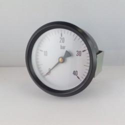 """Manometro 40 KG/CM2 diametro dn 80mm 1/4"""" Gas posteriore"""