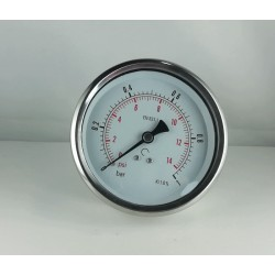 Glycerine filled pressure 1 Bar gauge diameter dn 100mm