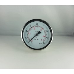 Glycerine filled pressure 1,6 Bar gauge diameter dn 100mm