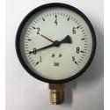 Dry vacuum gauge -1+9 Bar diameter dn 100mm bottom