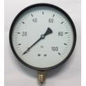 "Dry pressure gauge 100 Bar diameter dn 150mm 1/2""Bsp bottom"